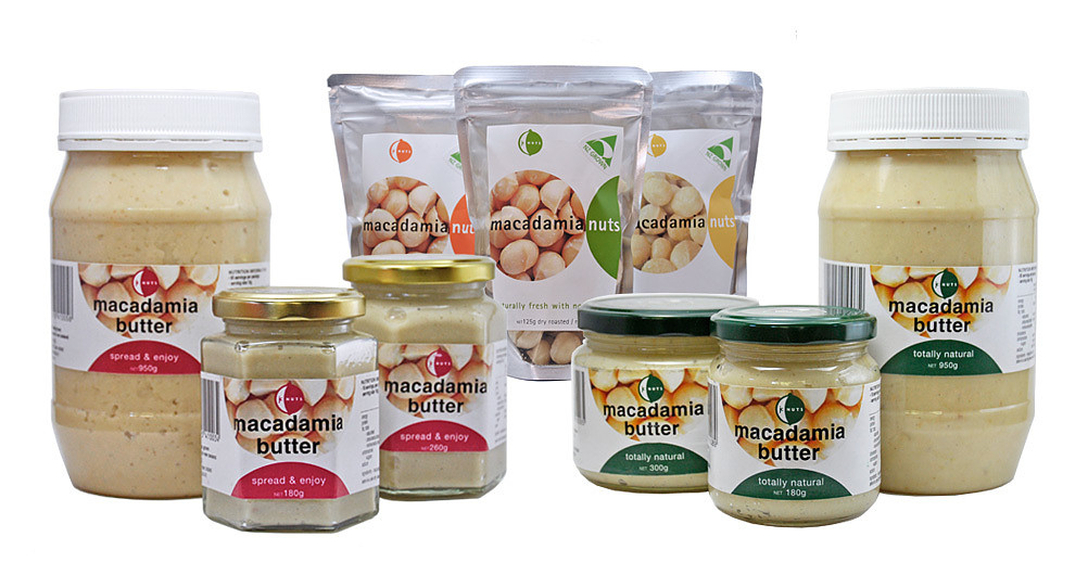 macadamia nuts and macadamia nut butter for sale from jc nuts kerikeri new zealand